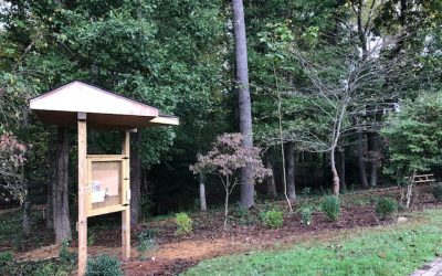 HFR's White-Flowering Native Teaching Garden