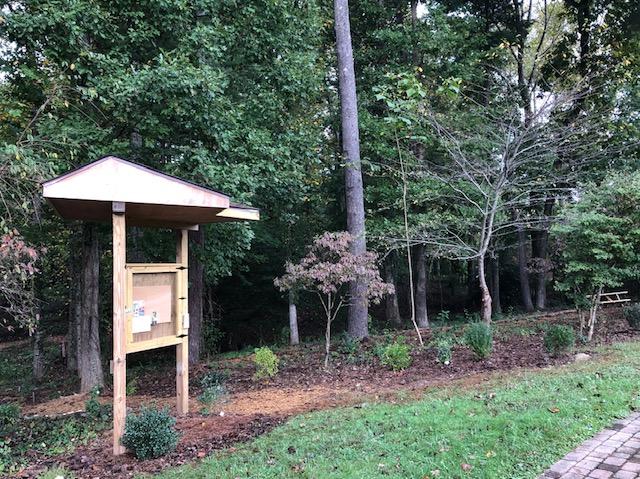 HFR's White-Flowering Native Teaching Garden