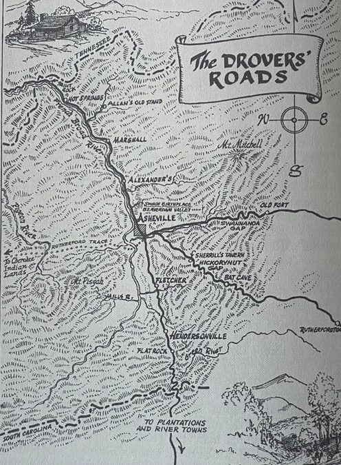 Early transportation in Western North Carolina, Part One